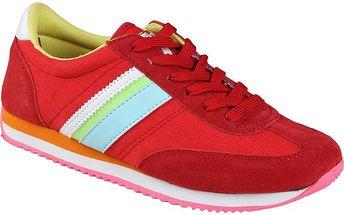 Dámské červené tenisky s barevnými detaily Authority