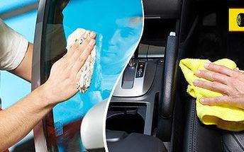 Kompletní vyčištění interiéru vašeho auta