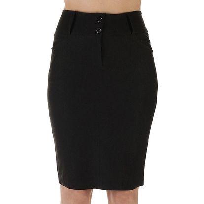 Dámská černá pouzdrová sukně Ada Gatti