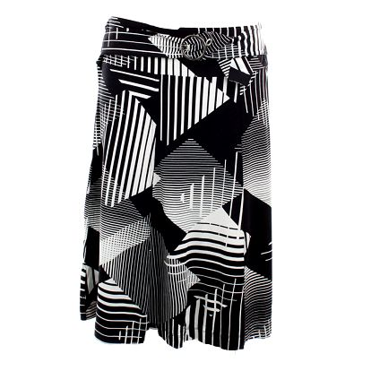 Dámská černo-bílá sukně Mexx
