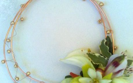 Šperky ze živých květin - víkendový kurz