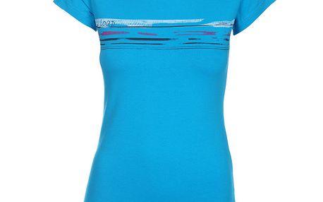 Dámské azurově modré tričko Loap