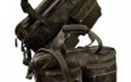 Pánská kožená taška Old casual 407