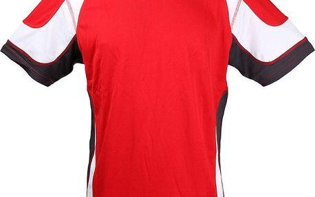 Pánské červené funkční tričko Authority