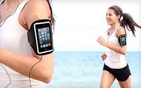 129 Kč za sportovní pouzdro na chytré telefony. Pouzdro je vhodné pro telefony Iphone, Samsung a další.
