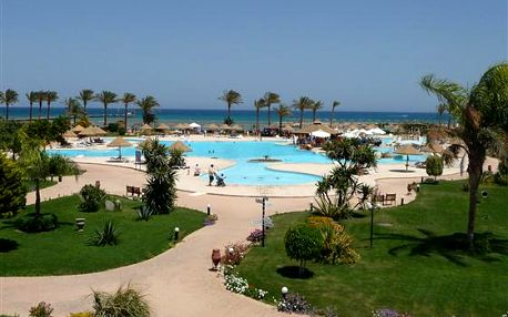 Egypt letecky. 8 dnů s All inclusive v ****hotelu Host Mark