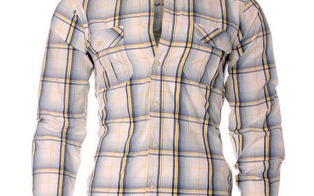 Pánská modro-bílá kostkovaná košile Fruit of the Loom