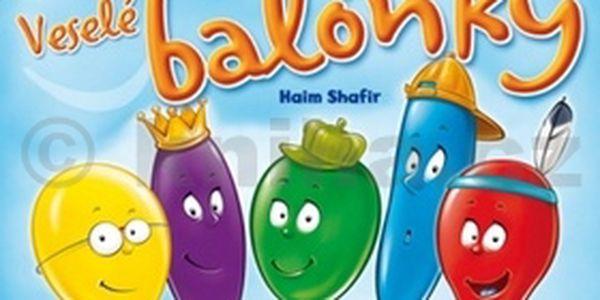 Veselé balónky, zábavná hra pro malé i velké