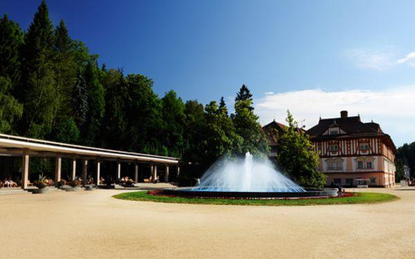 Letní odpočinkový pobyt pro DVA v centru Luhačovic