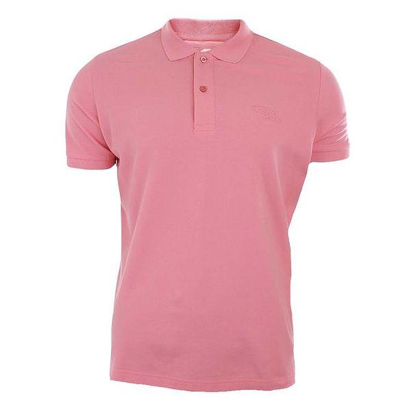 Pánské růžové polo tričko Timeout