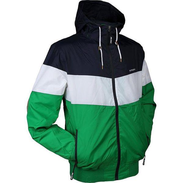 Pánská modro-bílo-zelená bunda Authority