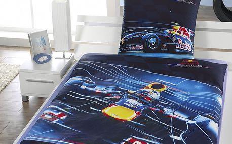 BedTex bavlna povlečení Red Bull Formule 140x200 70x90