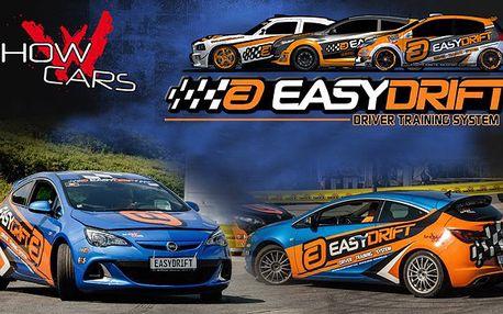 30 minut driftování ve speciálu Opel Astra levně!