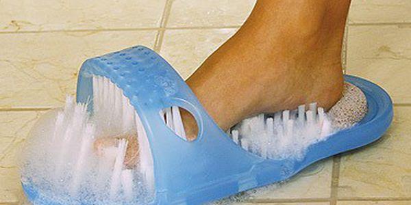 Masážní a čistící pantofel Easy Feet - již žádné ohýbání a pády ve sprše!