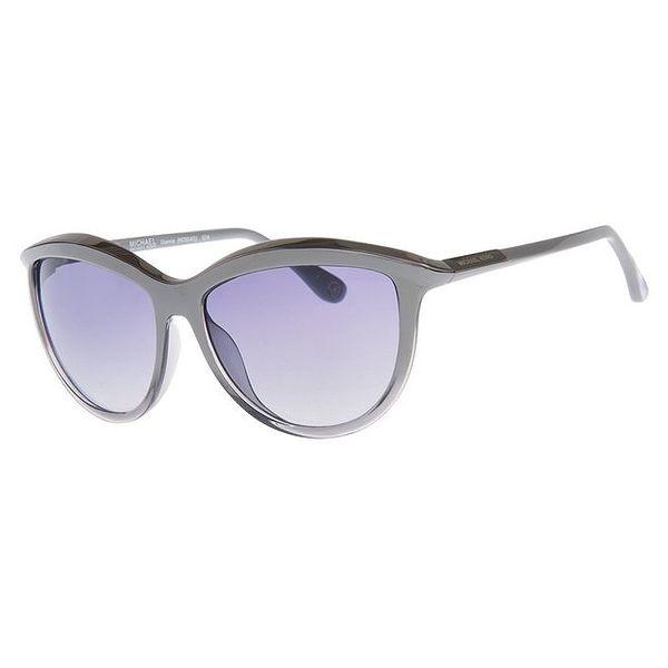 Dámské lesklé šedé sluneční brýle Michael Kors