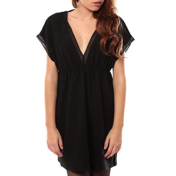 Dámské černé šaty s krajkou My Little Poesy