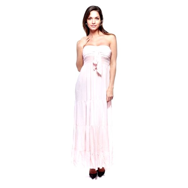 Dámské světle růžové šaty Trois Quatorze
