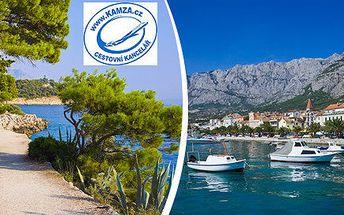 Dovolená u moře v oblíbené Dalmácii v penzionu Vila Bella Vista. 8denní pobyt s polopenzí. Dítě do 6 let zdarma.
