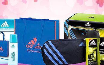 Balíček Adidas pro oba – toaletní voda a taška