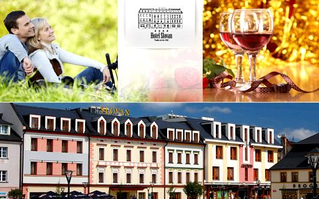 3-denní luxus s polopenzí v Hotelu Slovan**** v srdci Jeseníků