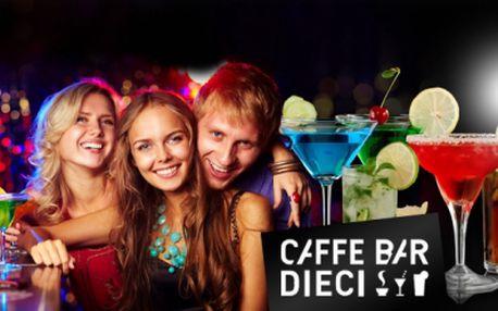 Výtečné koktejly za pouhých 80 kč! Dva za cenu jednoho! Vybrat si můžete ze 4 nejoblíbenějších: cuba libre, cosmopolitan, sex on the beach nebo tequilla sunrise! Užijte si s přáteli večer plný zábavy se slevou 50%!