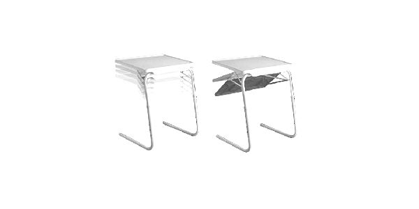 Table Mate - univerzální stolek si můžete kdykoliv přizpůsobit podle vašich potřeb!