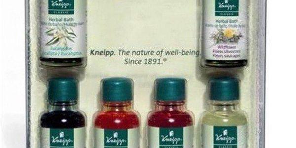 Kneipp Kazeta šesti olejů do koupele 6x20 ml