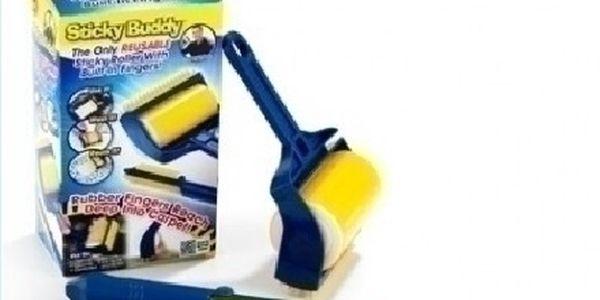 Kompletní sada Sticky Buddy. Známý odstraňovač nečistot a chlupů, který si poradí se všemi nečistotami.