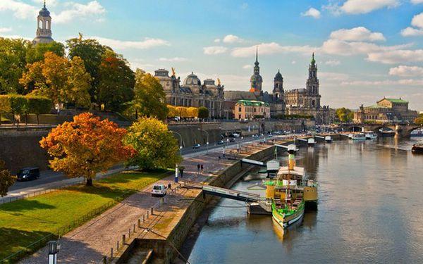 Romantický výlet do Drážďan s 33% slevou