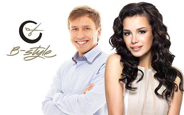 Kadeřnický balíček pro dámy i pány v pražském salónu Business Style