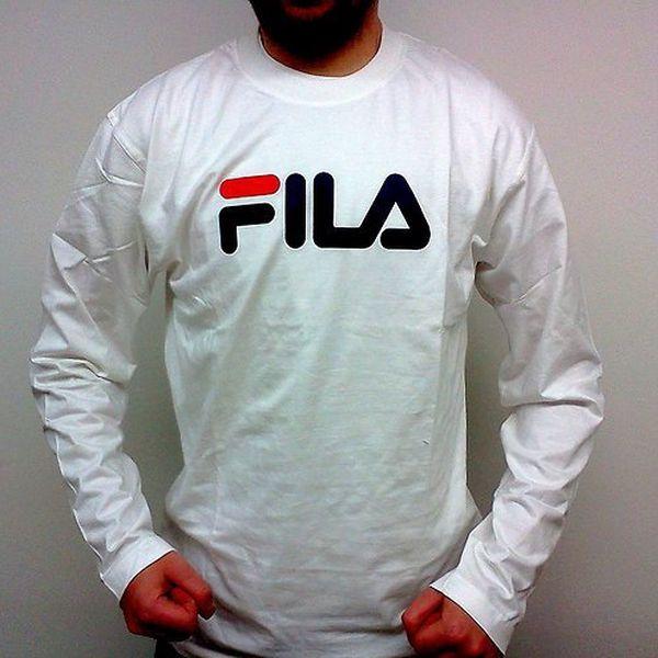 Sportovní triko Fila pro muže (Fila pánské tričko bílé, velikost L)