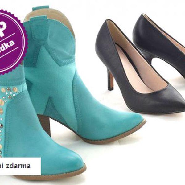 Dámská módní obuv na jaro
