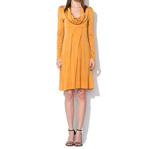 Dámské tmavě žluté šaty Roccobarocco