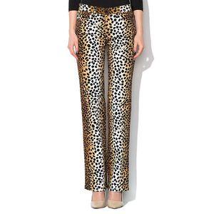 Dámské kalhoty s gepardím potiskem Roccobarocco