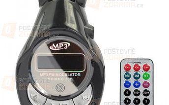 MP3 FM transmitter s ohebným kloubem a poštovné ZDARMA! - 16110542