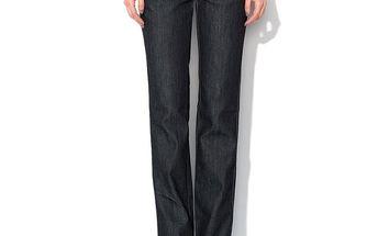 Dámské antracitové džíny s ozdobným logem Roccobarocco