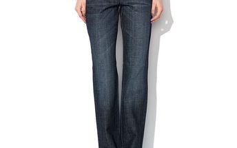 Dámské modré džíny s ozdobným logem Roccobarocco
