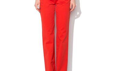 Dámské červené kalhoty Roccobarocco