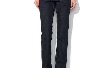 Dámské tmavě modré džíny s širším pasem Roccobarocco