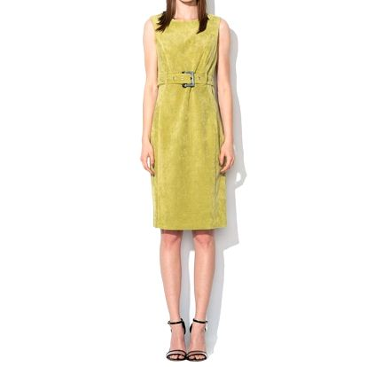 Dámské limetkově zelené šaty Roccobarocco