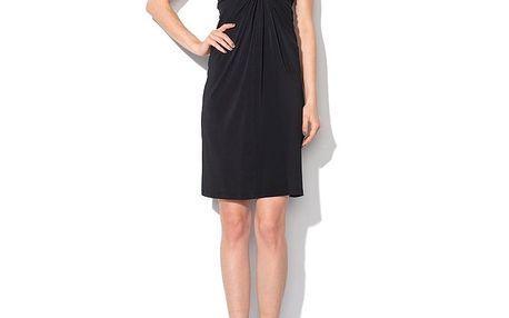 Dámské černé šaty bez rukávů Roccobarocco