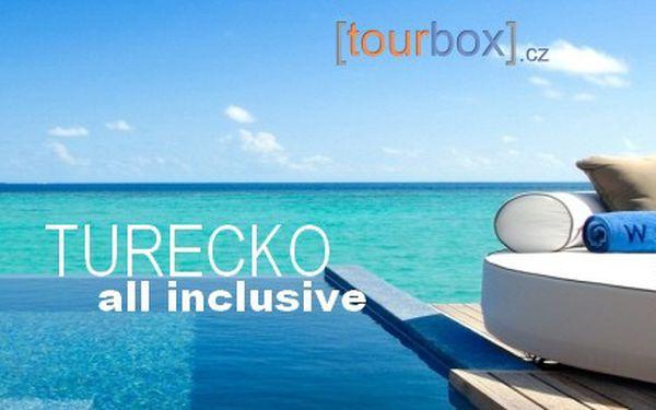 Last Minute Turecko, 8 dní 5* hotely s All Inclusive od 9 490 Kč! Odlet 06.06. z Prahy. Stačí zaplatit 90 Kč za prebooking.