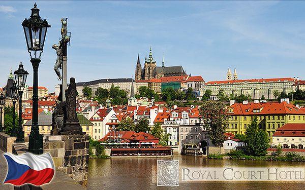 Pobyt v Royal Court Hotel**** v centru Prahy