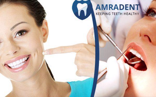 Profesionální dentální hygiena na klinice AmraDent