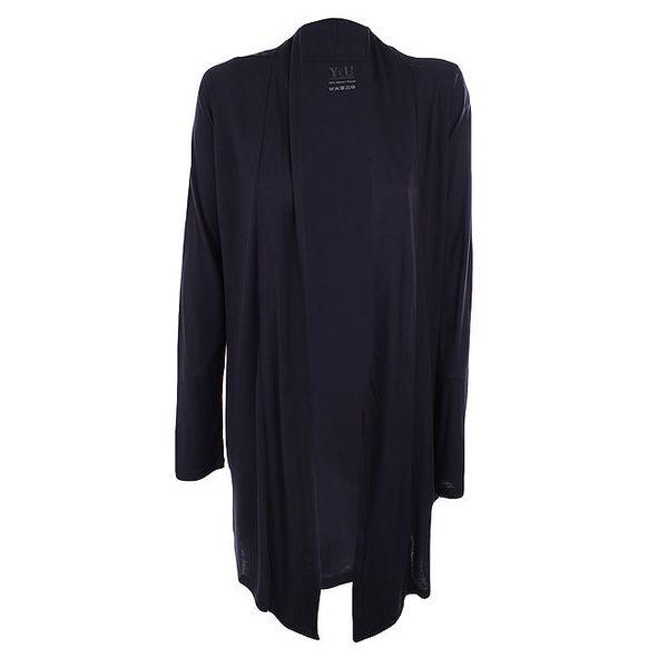Dámský tmavě modrý otevřený kardigan YU Feel wear