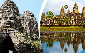 9 dní v tajuplné Kambodži, chrámy Angkoru, Phnom Penh a bílé pláže v Sihanoukville