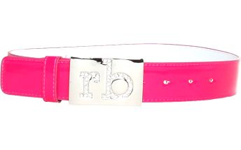 Dámský neonově růžový pásek Roccobarocco