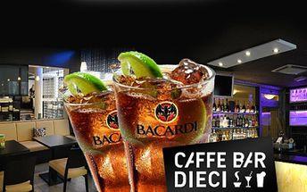 MAXI CUBA LIBRE pro 6 OSOB za bezkonkurenčích 211 Kč! Pokořte s přáteli tuto výzvu a užijte si večer v příjemném prostředí coctail baru Caffe Dieci v centru Brna!