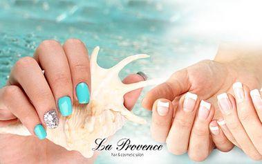 Vyberte si ze 3 balíčků MANIKÚRY od 159 Kč v salonu La Provence na Praze 3! Dopřejte svým nehtům péči a vyberte si P-SHINE se zábalem a masáží nebo GEL-LAK!