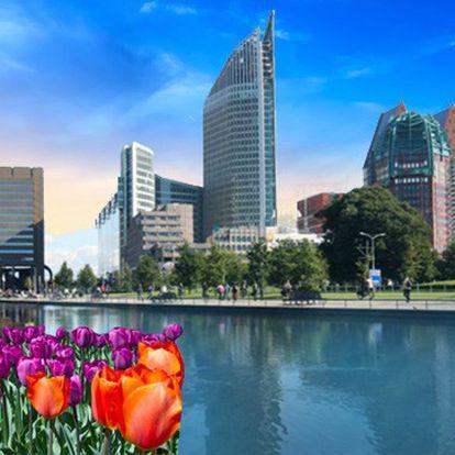 4denní zájezd do Holandska s dopravou klimatizovaným autobusem, ubytováním v hotelu a snídaněmi za 3 590 Kč. Květinové město Aalsmeer, Den Haag, Amsterdam a další půvabná města Holandska. Rozkvetlé tulipány, sýry a jedinečná architektura.